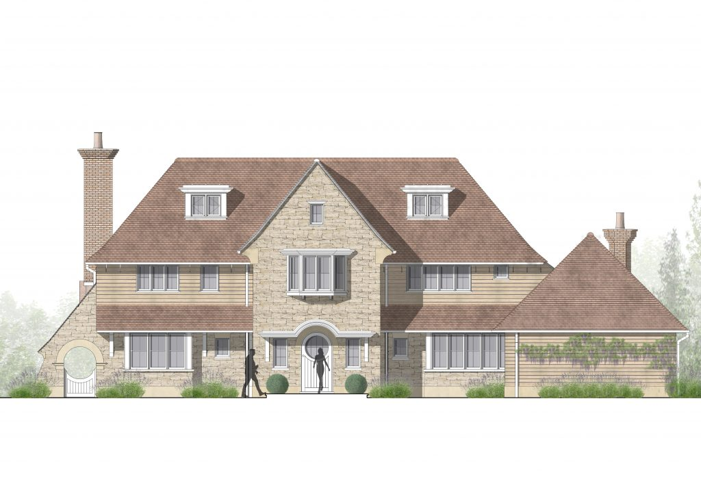 SW_West Elevation