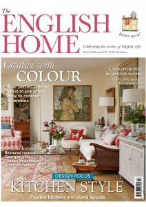 The English Home - Pullen Architectures Design features on the front cover