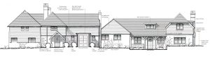 Planning Permission Granted - Grade 2 Listed Farmhouse - Scheme Drawing