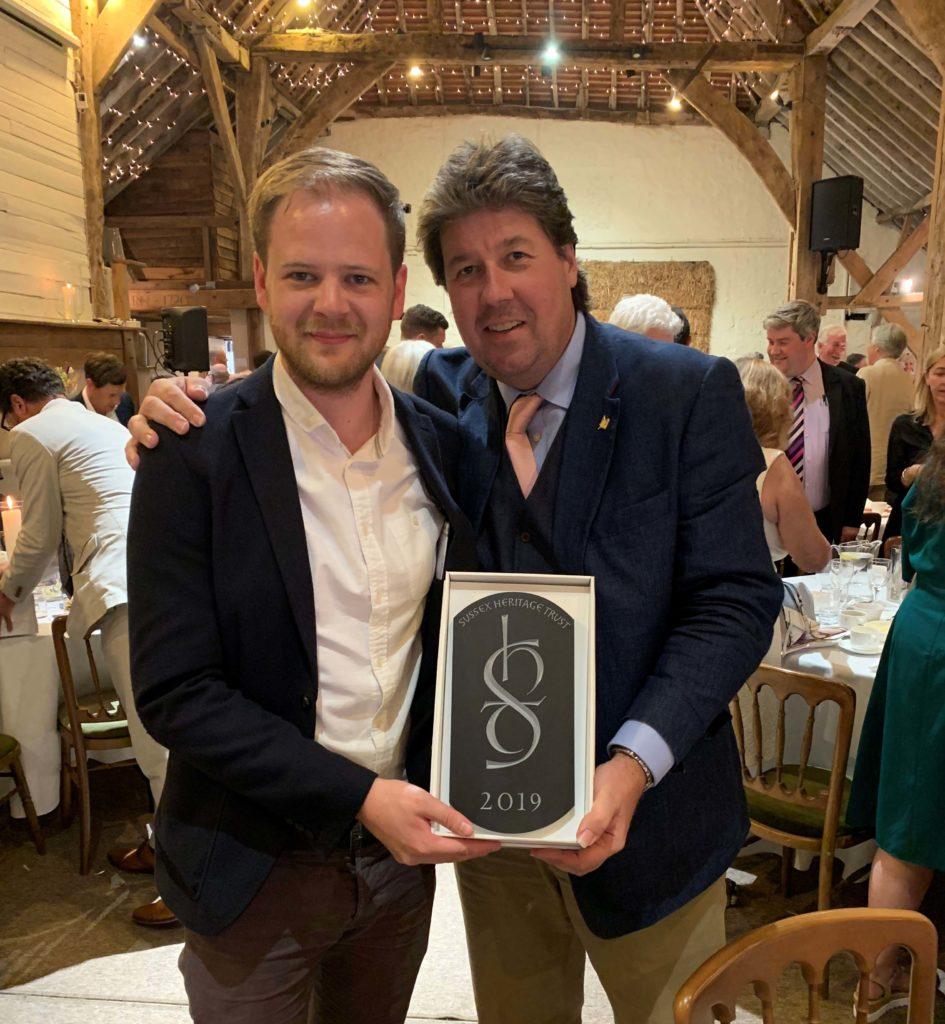 Sussex Heritage Trust Awards. Trevor Pullen. Benjamin Hume Chartered Architect RIBA